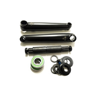 Fly Trebol V3 Cranks, 175mm/19mm, Black