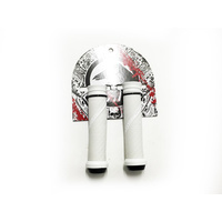 Shadow Thirteen Flangeless Grips, White *Sale Item*
