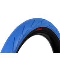 "Stranger Haze Tyre, 2.4"" Blue W/Black Walls"