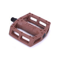BSD Safari Plastic Pedals, Chocolate