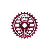 Shadow Kobra Lahsaan Kobza Signature Sprocket, 28T Red