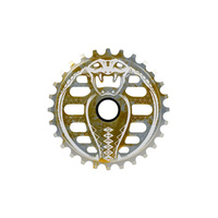 Shadow Kobra Lahsaan Kobza Signature Sprocket 28T Agent Orange