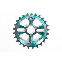 Tempered Anchor Down V2 Sprocket, 28T Greenish Grey Splatter