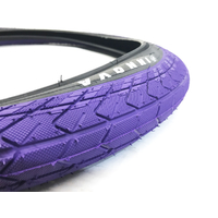 "Innova Tyre, 2.25"" Purple W/Black Sidewall Inc. Tube"