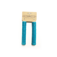 Tempered Zephyr Flangeless Grips, Aqua.