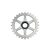 FBM Quickness 22mm Spline Drive Sprocket, 25T Polished/Raw