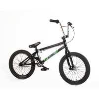 "Forgotten 2018 18"" Misfit Complete Bike, Black"