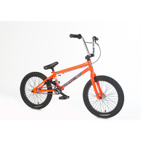 "Forgotten Bikes 2018 18"" Misfit Complete Bike, Neon Orange"
