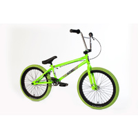 Forgotten Bikes 2018 Misfit Complete Bike, Gloss Neon Green W/Green Tyres