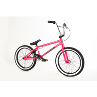 Forgotten Bikes 2018 Misfit Complete Bike, Gloss Neon Pink W/White Wall Tyres