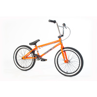 Forgotten Bikes 2018 Misfit Complete Bike, Gloss Neon Orange W/White Wall Tyres
