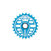 Shadow Kobra Lahsaan Kobza Signature Sprocket, 25T, Polar Pop Blue