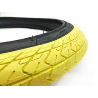 "Innova Tyre, 2.25"" Yellow W/Black Sidewall Inc. Tube"