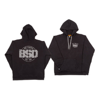BSD Established Hoodie, Black Large *Sale Item*