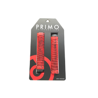 Primo Logo Grips, Red/Black