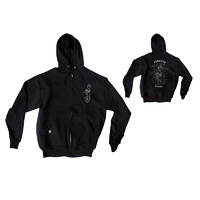 Subrosa Flamingo Hoodie, Black, Medium