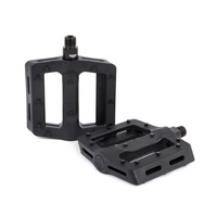 Shadow Surface Plastic Pedals, Black