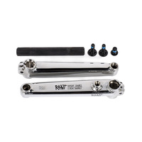 Rant Bangin 8 Spline Cranks 165mm/19mm, Chrome