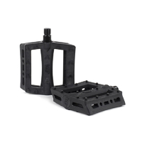 Rant Shred Plastic Pedals, Black