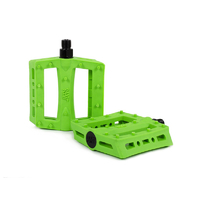 Rant Shred Plastic Pedals, Neon Green