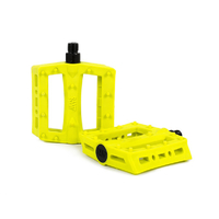 Rant Shred Plastic Pedals, Neon Yellow