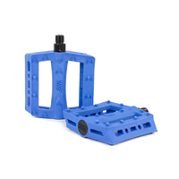 Rant Shred Plastic Pedals, Blue