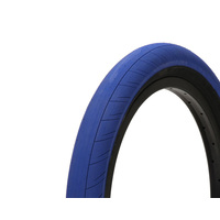 "Primo Stevie Churchill Tyre. 20"" x 2.45"", Dark Blue W/Black Walls"