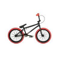 "Fly 2018 Nova Complete Bike 18"" RHD, Black W/Red Tyres"