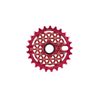 Shadow Maya Sprocket, 25t Crimson Red