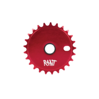 Rant Stick Em Sprocket, 25T  Red