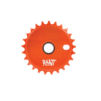 Rant Stick Em Sprocket, 25T  Orange