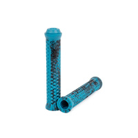 Shadow Maya Flangeless Grips, Polar Pop Blue Tye Die