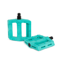Shadow Surface Plastic Pedals, Phantom Green
