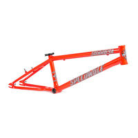 "Subrosa Speedwolf Race Frame, Pro Short 21"" Fury Red"