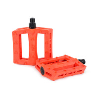 Rant Shred Plastic Pedals, Orange