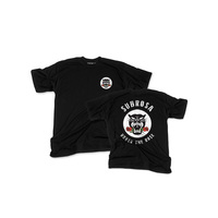 Subrosa Battle Cat Tee, Black Large