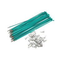 Macneil Spokes, 184mm Green/Teal