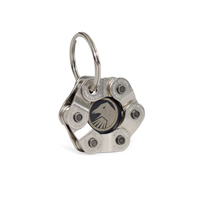 Shadow Interlock Key Chain