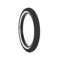 "Rant Squad Tyre, 2.3"" Black W/ White Walls"