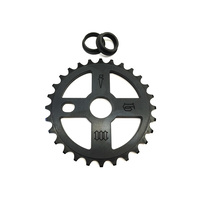 FBM Cross Sprocket 28t, Black
