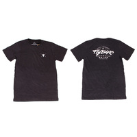 Fly Moto Tee, Black Medium