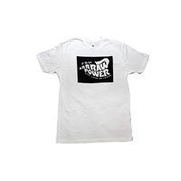 FBM Raw Power Tee, White X/Large