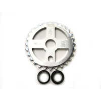 FBM Cross Sprocket 28t, Polished