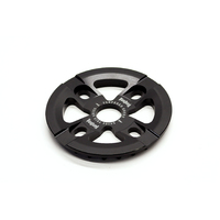 Tempered Abyss Sprocket Guard Combo, 25t Black