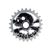 Shadow Cranium Sprocket, 25t Raw Polished