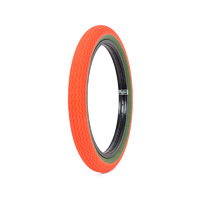 "Subrosa Sawtooth Tyre, 20 x 2.35"", Hunter Orange/Army Green"