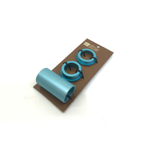 Fly 22mm Spanish BB Spacers Only, Turquoise *Sale Item*