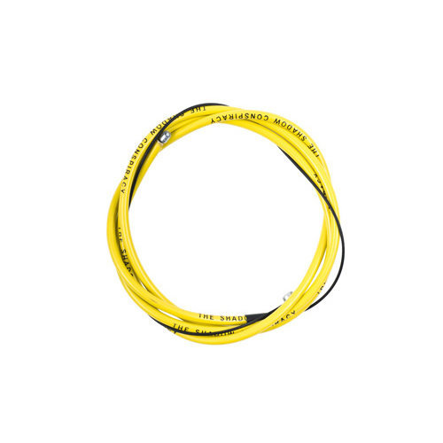 Shadow Linear Brake Cable, Yellow *Sale Item*