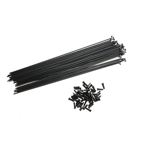 Shadow Spokes 290mm - Includes Nipples, Black *Sale Item*
