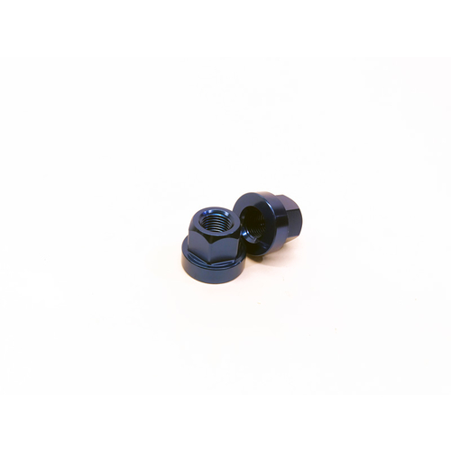 Macneil 10mm Axle Nuts (Pair), Blue *Sale Item*